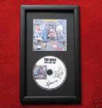 THE WHO - WHO ARE YOU CD Disc MEMORABILIA PRESENTATION